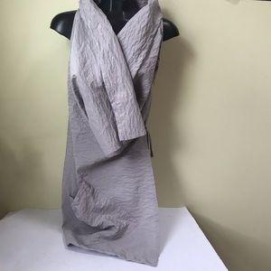 Bryn Walker Zen Vest 1 Side Pocket Sleeveless Ties